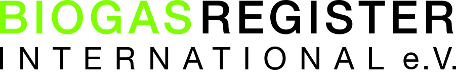 Biogasregister International eV Logo